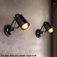 Ajustable Led Metallweinlese Light Industrial Decken Wand Licht Lampe Fixture