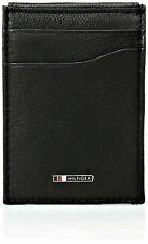 Tommy Hilfiger Men's RFID Lloyd Magnetic Black Front-Pocket Wallet RFID