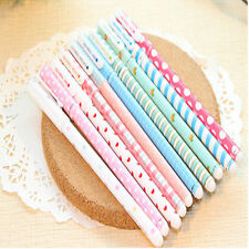 10pcs Colorful Gel pen Kawaii Stationery korean Flower Style For Office