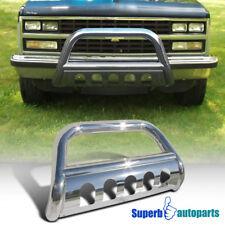 88-98 GMC C/K 1500 Chevy 92-94 Jimmy 95-99 Yukon S/S Bull Bar Grill Guard Chrome