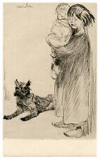 Theophile Steinlen original etching