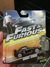 Fast Furious Mattel HONDA S2000 black  *