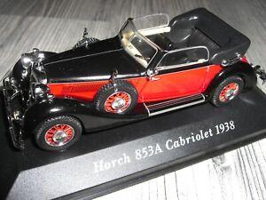 HORCH 853A CABRIOLET 1938 1:43 IXO/Altaya
