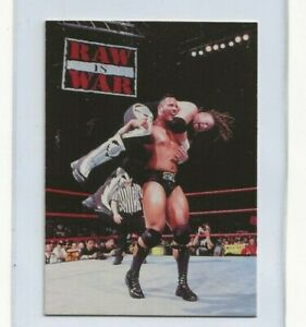 1998 THE ROCK Comic Images Duocard #15 Rare WWF WWE Rookie Card RC GRADABLE