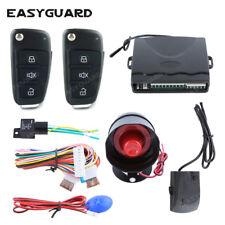 EASGUARD car alarm system keyless entry central door unlock locking shock sensor