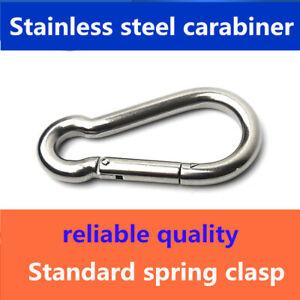 Stainless steel carabiner rope hanging buckle