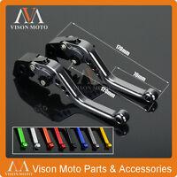 Short Brake Clutch Levers For SUZUKI GSF1250 BANDIT 07-15 GSF1200 BANDIT 01-06