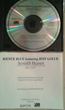 AVENUE BLUE CD seventh heaven JEFF GOLUB promo single edit PRCD 8509