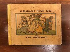 Almanac 1887 (par Kate Greenaway)