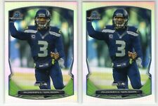 "2014 Bowman Chrome #30 Russell Wilson Refractor ""2 Card Lot"""