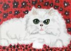 Persian Lounge 8x10 Cat Pop Art Giclee Print Collectible Signed by Artist KSams