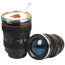 Canon Caniam Camera Lens Ef 24 105mm Stainless Steel Travel Tea Coffee Mug Cup