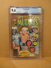 New Mutants 87 CGC 9.6 W GOLD 1st Cable & Stryfe NM+ 2nd Print X-Men #1568570002