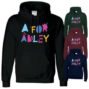 A For Adley Kids Hoody Viral Youtuber Gaming Boys Girls Funny Gift Mens hoodie