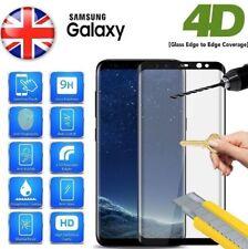 Complet Courbé 4D Protection Écran en Verre Trempé pour Samsung Galaxy S6 Edge