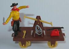 Timpo Toys   Draisine mit Cowboy