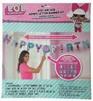 L.O.L. Surprise Add-an-Age Banner LOL Surprise Birthday Party Decoration