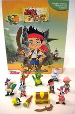 NEW Jake and the Neverland Pirates Toy Figure Play Set -Book & Playset Figurines