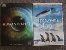 BBC Human Planet +Frozen Planet (2 documentary CompleteSeriesDVD sets)