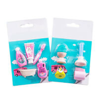 8X Toilet Shape Erasers Rubber Pencil Erasers School Student Kids Stationery Set