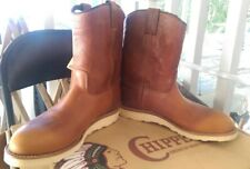Chippewa Pecos red wing heritage vtg style