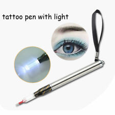 LED Light Permanent Makeup Manual Pen Microblading Eyebrow Tattoo Needle Holder