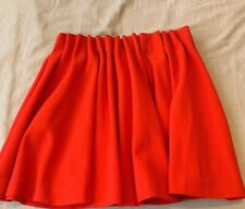 HM Red Pleaded Skirt
