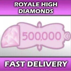 500,000 Royale High Diamonds In-Game Items (Read Description) Cheap 💎