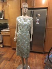 1960S Vintage Amazing Sequin Cocktail Dress Size 8–10?