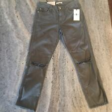 7 for all mankind Timeless Slim Straight In Moss Size 25 NWT