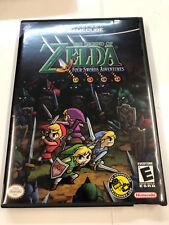 Nintendo GameCube The Legend Of Zelda Four Swords Adventures + GBA Cable USA