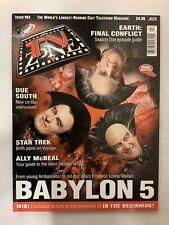 Tv Zone Cult Tv Magazine July 1998 Issue#104 Babylon 5 Peter Juasiik