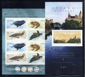 Canada Booklets 2007 Face $8.32 L#J0236