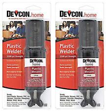 Devcon S220 Plastic Welder Impact Resistant Water Resistant 25ml-2 Pack 22045 *