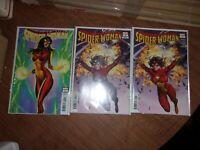 Spider-Woman#1 Lot of 3 2 Variants + ! regular Marvel Comics 2020 Unread NM/M