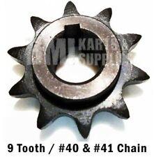 9T #40/41 Sprocket Gear for 20/30 Series Comet Torque Converter Driven Tav2 New