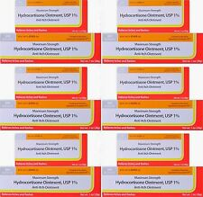 Activis Hydrocortisone Ointment 1% Max OTC Strength Anti-Itch 1oz ( 6 pack )