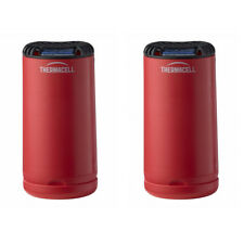 Thermacell Outdoor Patio Camping Shield Mosquito Insect Repeller Red (2 Pack)