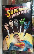 Superman vs The Revenge Squad - DC Comics - 1997 TP Graphic Novel USED @