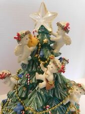 Danbury Mint Dreamsicles Angels Light Up Christmas Tree 2001