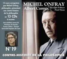 MICHEL ONFRAY - CONTRE-HISTOIRE DE LA PHILOSOPHIE, VOL. 19 NEW CD