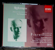 BEETHOVEN THE 9 SYMPHONIES WILHELM FURTWÄNGLER / 5-CD SET