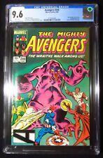Avengers #244 (1984 Marvel) CGC 9.6...Dire Wraiths app...Rom movie coming