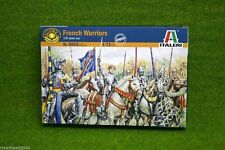Plastic Toy Soldier Army Boxed Set - Italeri French Knight & Foot Soldiers 6026