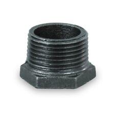 "Bmbu2121 2-1/2 X 3/4"" Black Malleable Iron Bushing Fitting With Hexagonal Head"