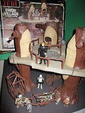 Star Wars Vintage Ewok Village Playset Box Action Figures 1982 Kenner Collection