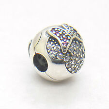 Genuine Authentic S925 Silver Minnie Pave Clip Charm