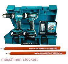 Makita DLX2020Y Akku Bohrschrauber DHP453 + DTD146 im Combo-Kit DK1858