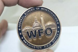 FBI Washington Field Office WFO Challenge Coin
