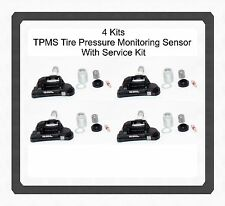 Set 4 TPMS Tire Pressure Monitoring Sensor w/Service Kit For:Mercedes 2017- 2014